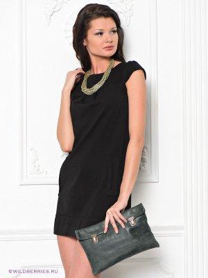 Платье Fervente. Цвет: черный