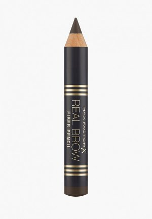 Карандаш для бровей Max Factor Fiber Brow Pencil, 5 Rich Brown, 3,6 гр. Цвет: коричневый