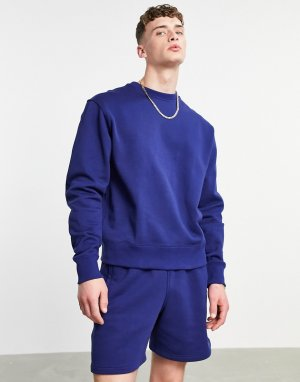 Темно-синий премиум-свитшот x Pharrell Williams adidas Originals