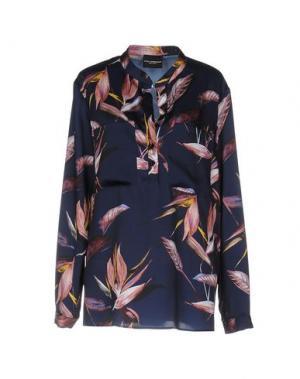 Блузка ATOS LOMBARDINI. Цвет: синий