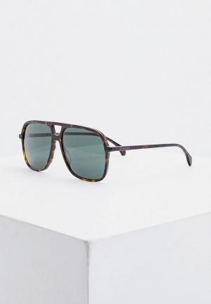Очки солнцезащитные Gucci GG0545S 002. Цвет: коричневый