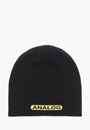 Шапка Analog AG BEANIE. Цвет: черный