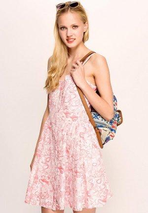 Платье Firetrap FI614EWBU962. Цвет: розовый