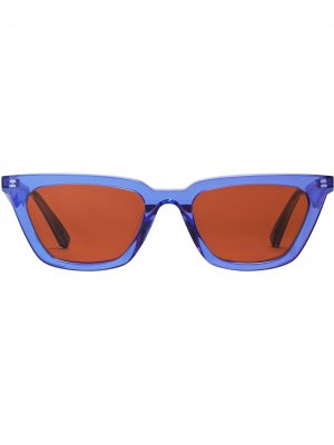 Солнцезащитные очки Agail Gentle Monster. Цвет: коричневый
