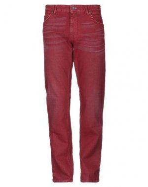 Джинсовые брюки NAPAPIJRI. Цвет: красный