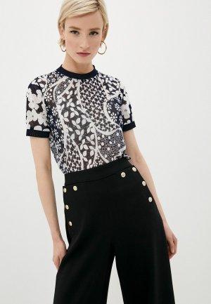 Блуза High. Цвет: разноцветный