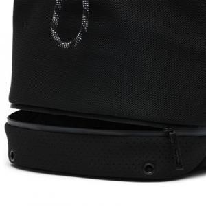 Женская пляжная сумка Hurley Neoprene Perforated Solid Nike. Цвет: черный