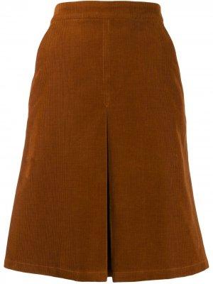 Юбка Coco А-силуэта A.P.C.. Цвет: коричневый