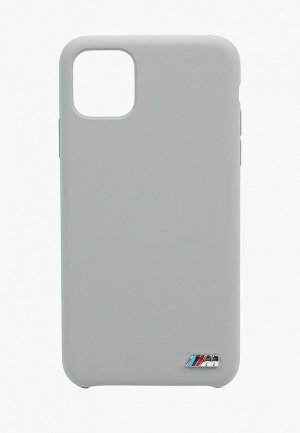 Чехол для iPhone BMW 11 Pro Max, M-Collection Liquid silicone Grey. Цвет: серый