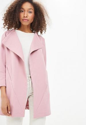 Пальто Sitlly. Цвет: розовый