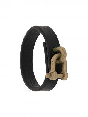 Restraint charm bracelet Parts of Four. Цвет: черный