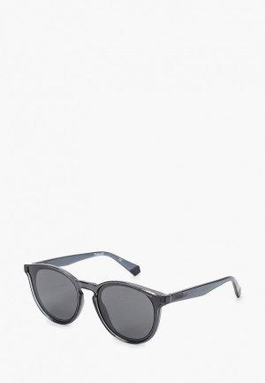 Очки солнцезащитные Polaroid PLD 6143/S KB7. Цвет: черный
