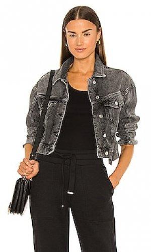 Джинсовая куртка two tone ALLSAINTS. Цвет: серый