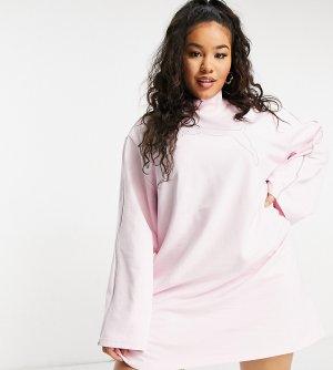 Розовое платье PUMA Plus Icons 2.0 Fashion-Розовый цвет