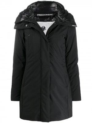Hooded Lubiana jacket Freedomday. Цвет: черный