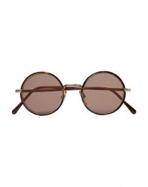 Солнечные очки CUTLER AND GROSS. Цвет: черный
