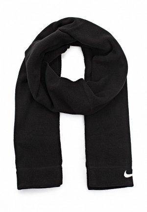 Шарф Nike FLEECE SCARF. Цвет: черный