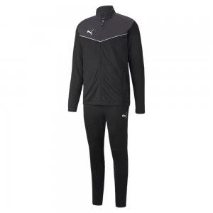 Спортивный костюм individualRISE Mens Football Tracksuit PUMA. Цвет: черный