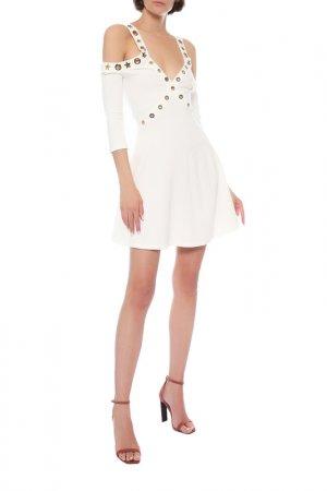 Платье Philipp Plein. Цвет: белый