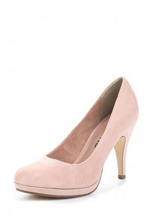 Туфли Tamaris. Цвет: розовый