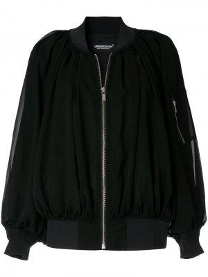 Куртка-бомбер со складками Undercover
