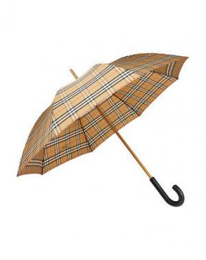 Зонт BURBERRY. Цвет: бежевый