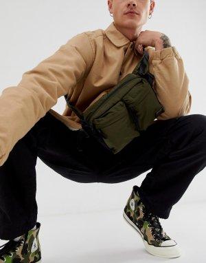 Зеленая сумка-кошелек на пояс в стиле милитари -Зеленый Carhartt WIP