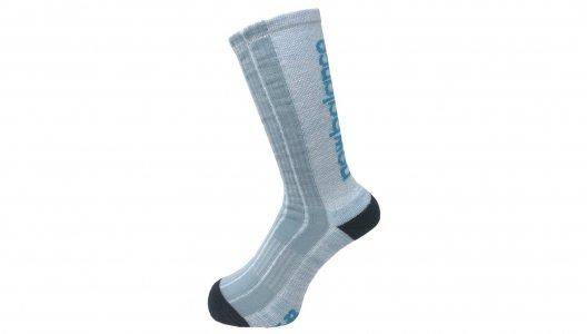Носки LIFESTYLE CONTRAST HEEL TOE CREW 1 PAIR New Balance. Цвет: голубой