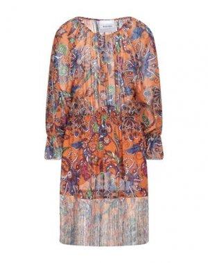 Платье до колена BRAND UNIQUE. Цвет: оранжевый