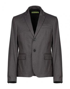 Пиджак VERSACE JEANS. Цвет: серый