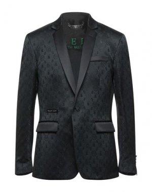 Пиджак PHILIPP PLEIN. Цвет: стальной серый