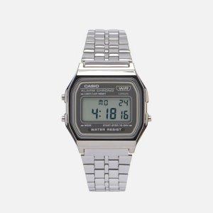 Наручные часы Vintage A158WETB-1AEF CASIO. Цвет: серебряный
