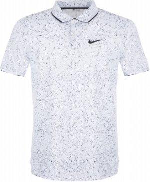 Поло мужское Court Dry, размер 44-46 Nike. Цвет: белый