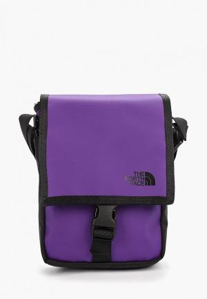 Сумка The North Face BARDU BAG. Цвет: фиолетовый