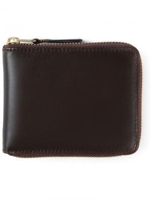 Кошельки и визитницы Comme Des Garçons Wallet. Цвет: коричневый