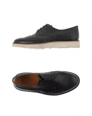 Обувь на шнурках ESSEUTESSE. Цвет: черный