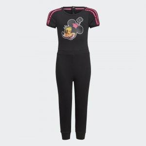 Комбинезон Minnie Mouse Sportswear adidas. Цвет: черный