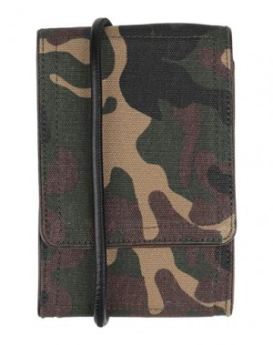 Бумажник DRIES VAN NOTEN. Цвет: зеленый-милитари