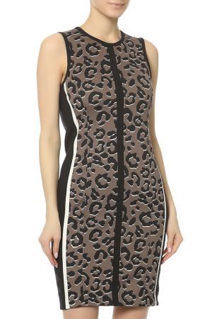 Платье MARC CAIN SPORTS. Цвет: принт леопард