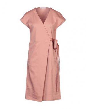 Платье до колена CARACTÈRE. Цвет: пастельно-розовый