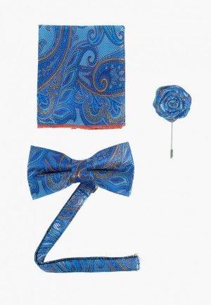 Комплект Quesste. Цвет: голубой